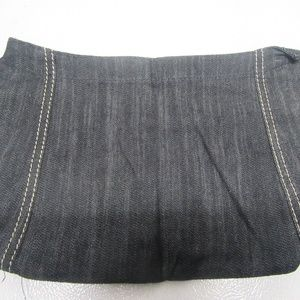 Thirty One Skirt Purse Skirt in Dark Denim